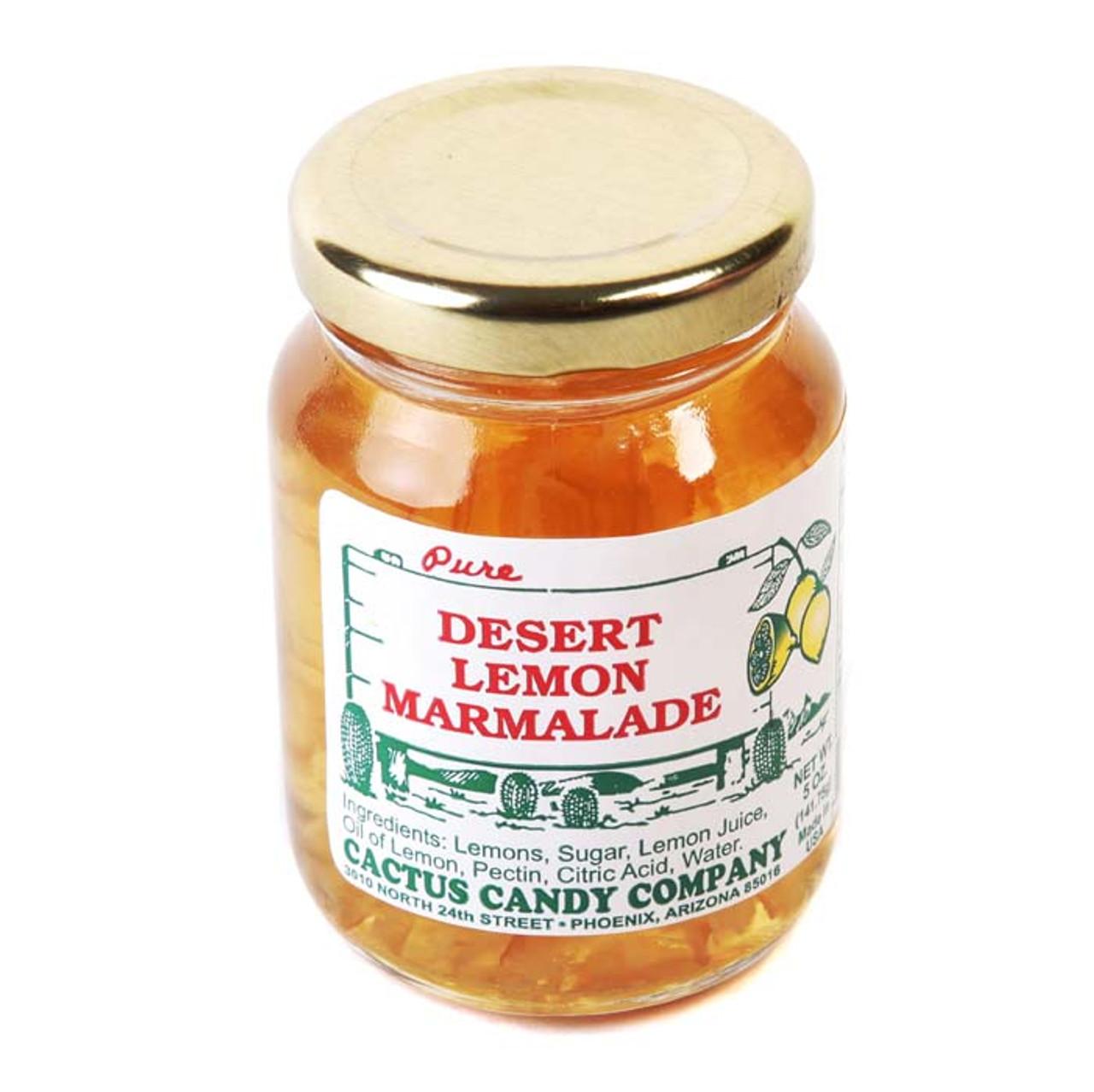 Desert Lemon Marmalade 5oz-Case of 12