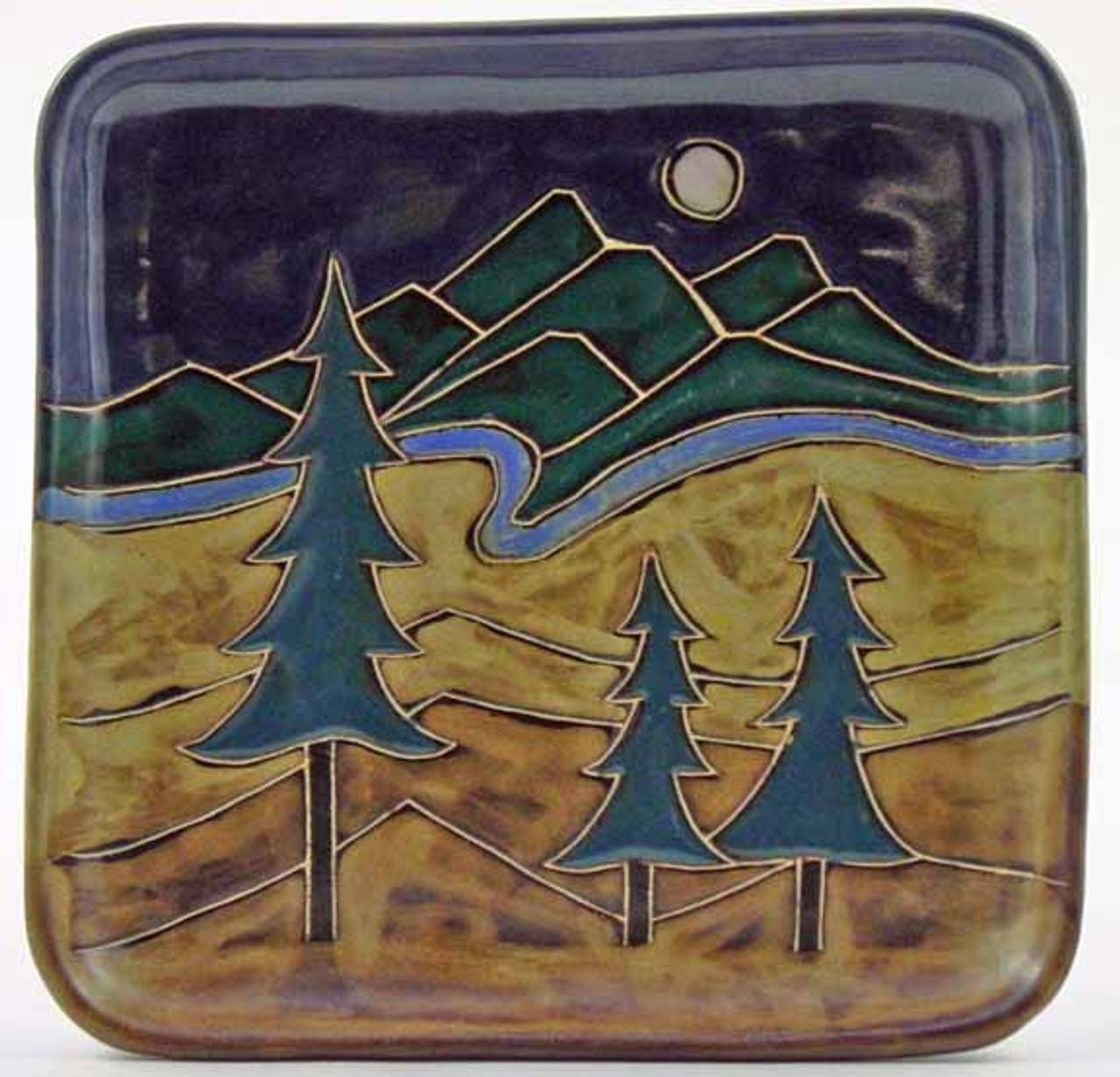 """Mara Salad Plate 8.5"""" - Trees"""