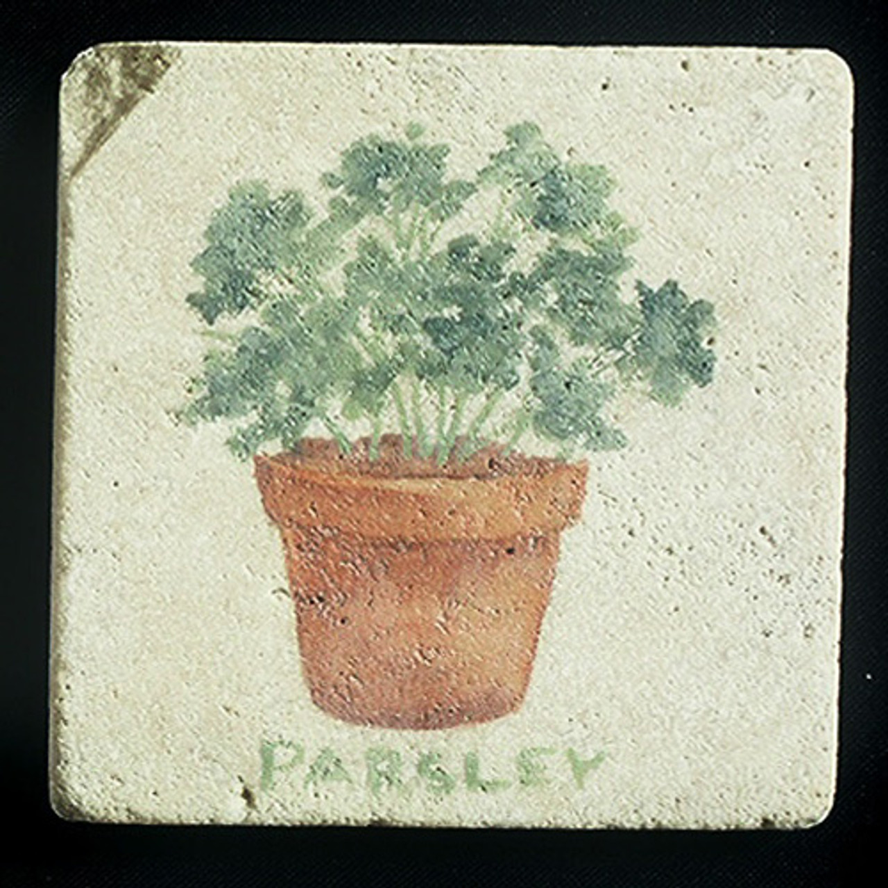 "Parsley 4""x4"" Deco Tile"