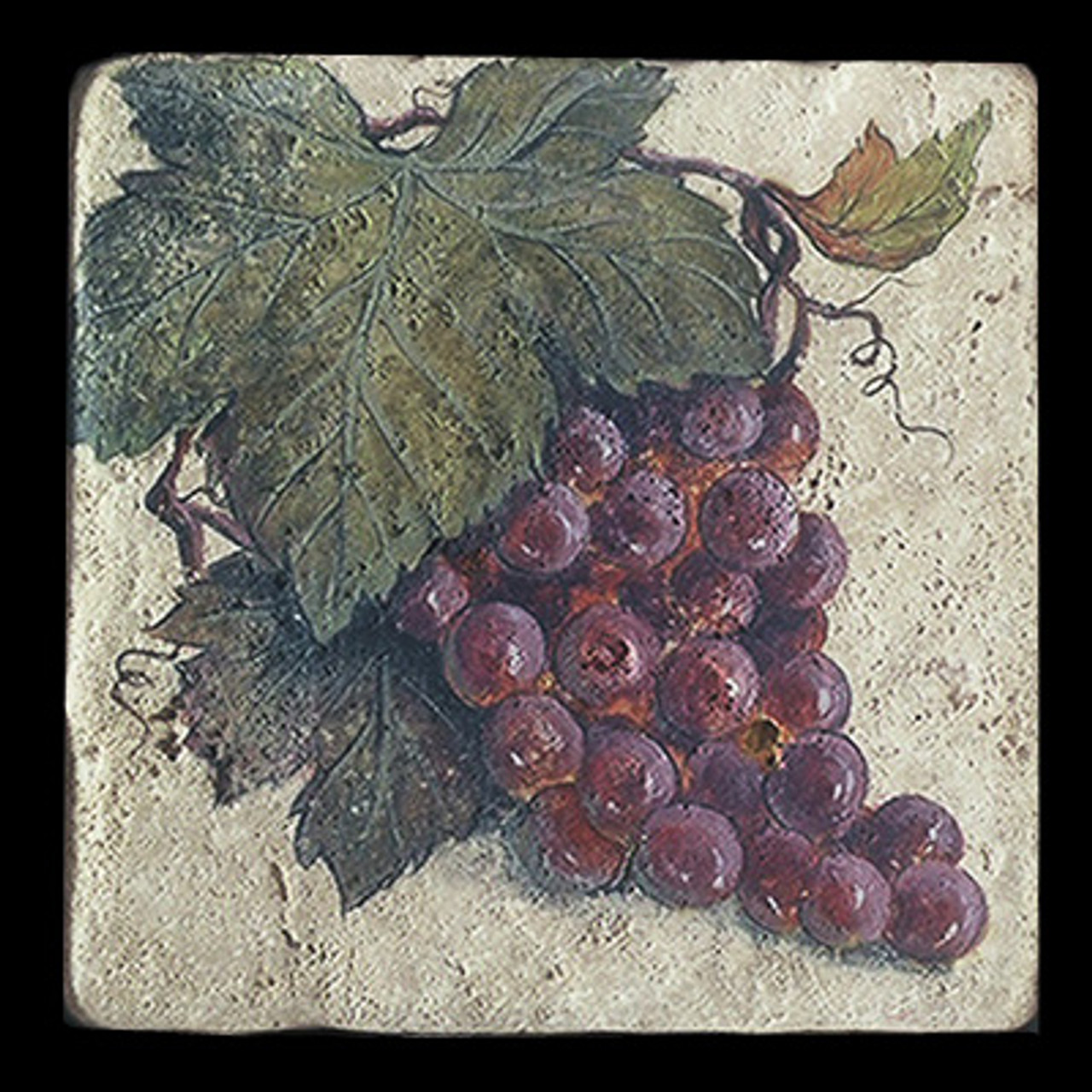 """Grape Cluster 6""""x6"""" Deco Tile"""