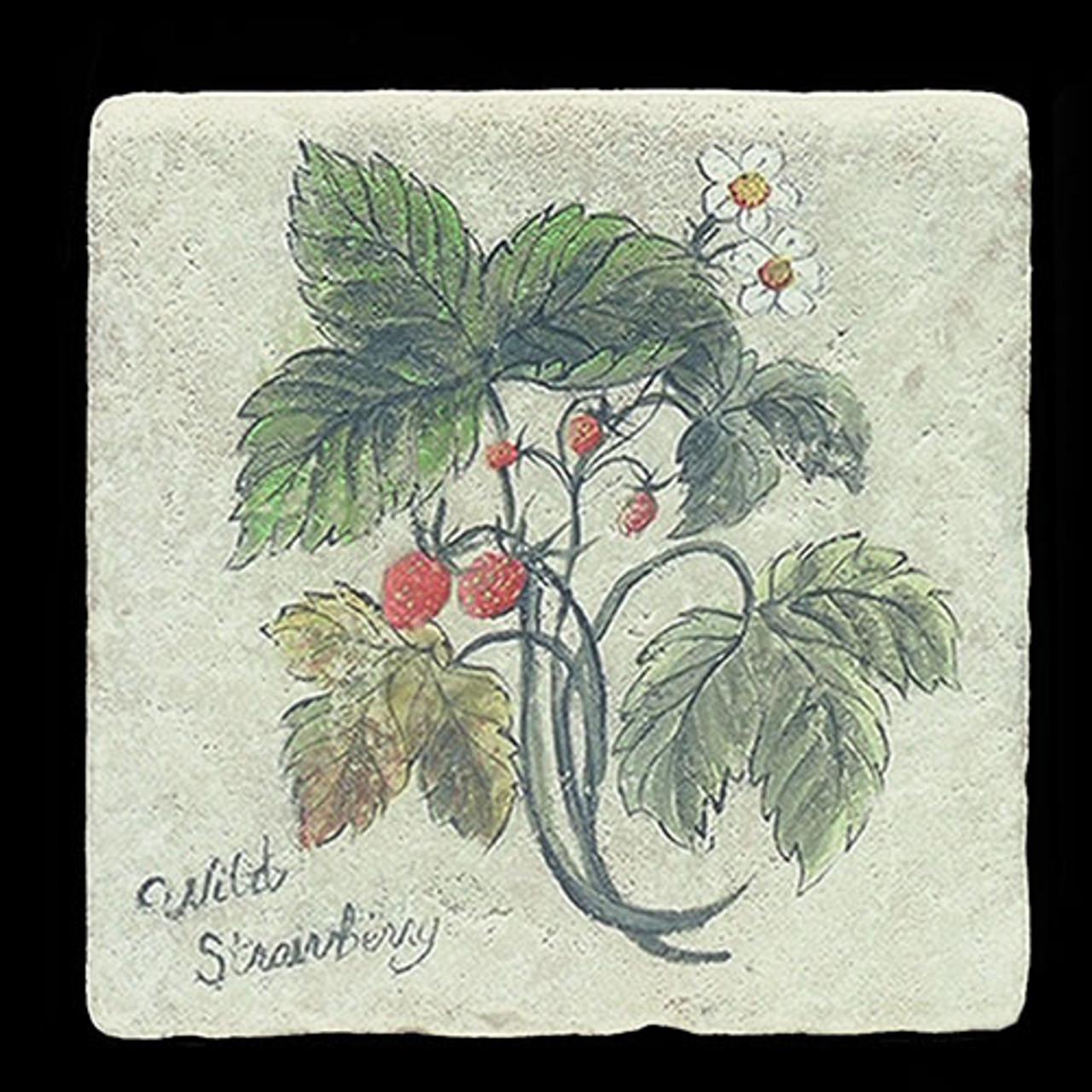"Wild Strawberry 6""x6"" Deco Tile"