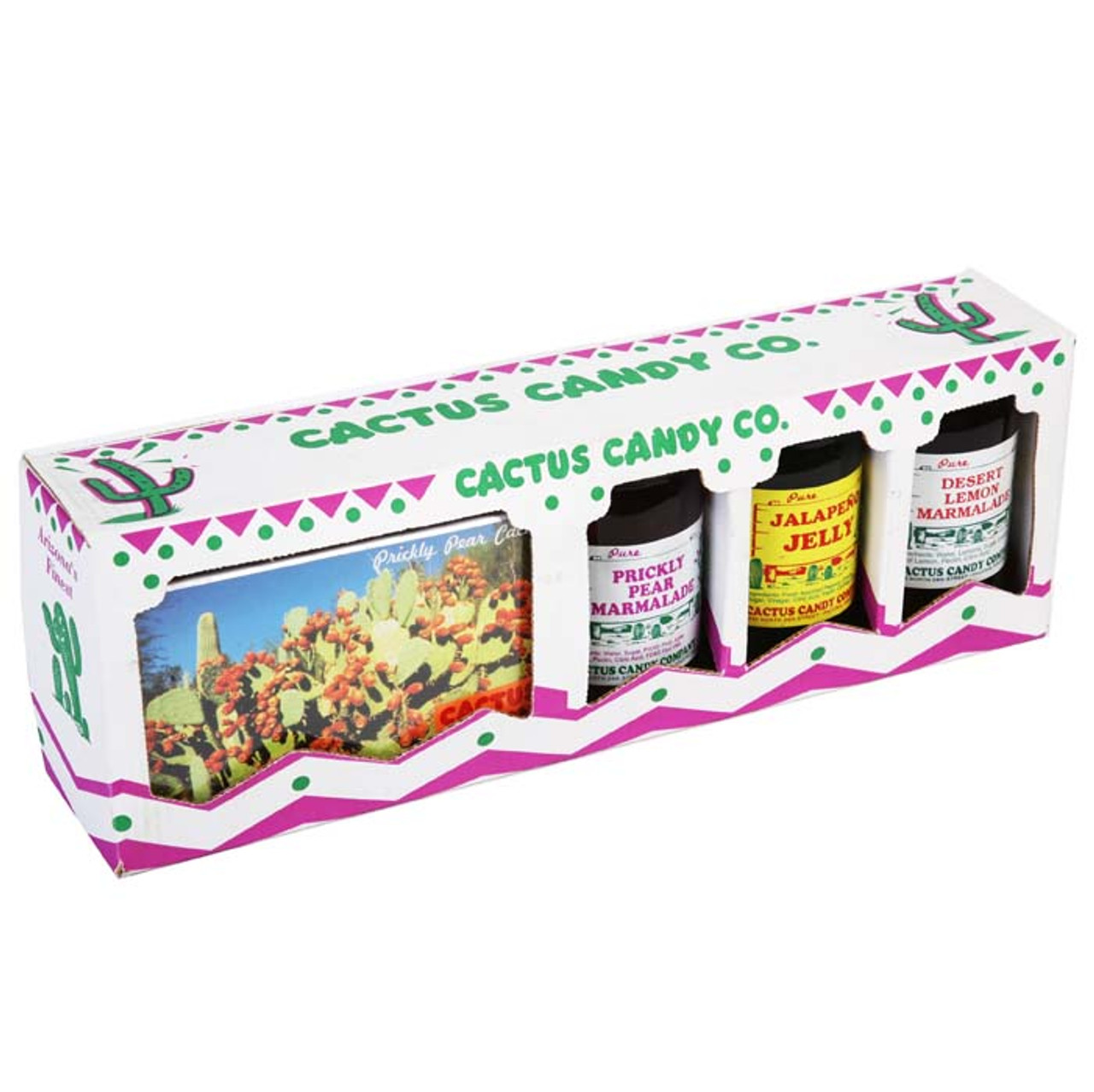 Jelly & 2 Boxes of Candy-Case of 3