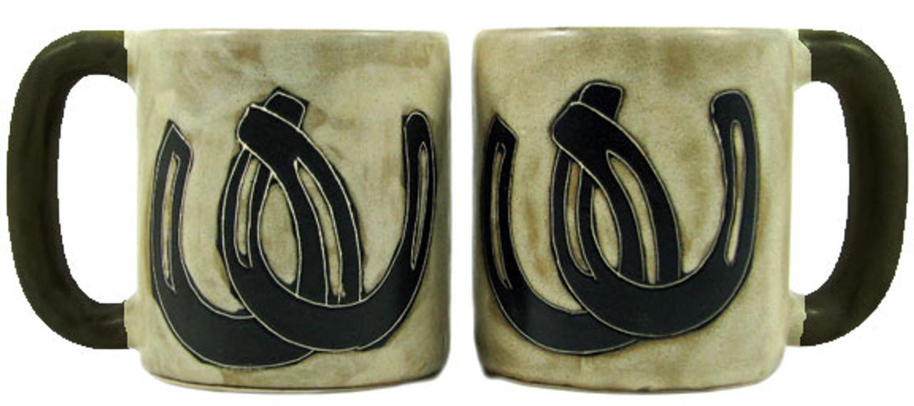 Mara Mug 16oz - Horseshoes