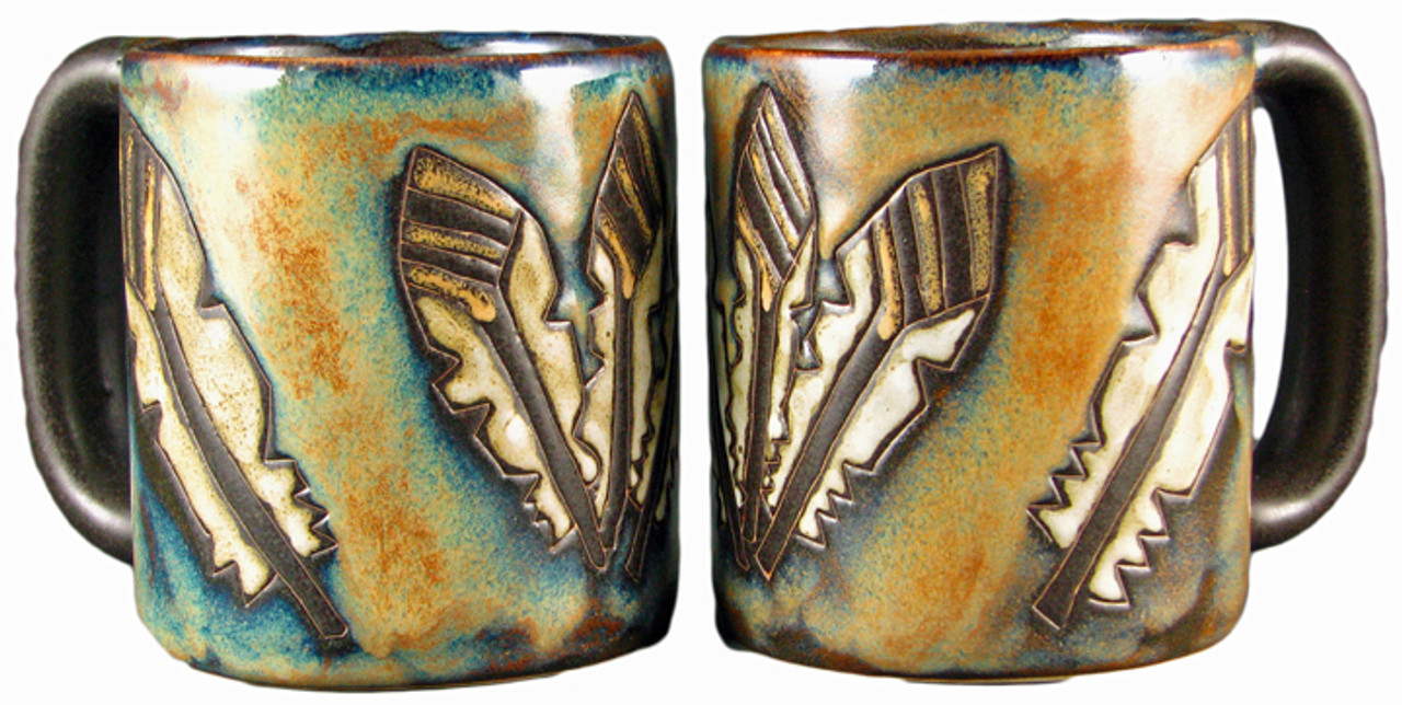 Mara Mug 16oz - Feathers OUT OF STOCK UNTIL 01/20/2021