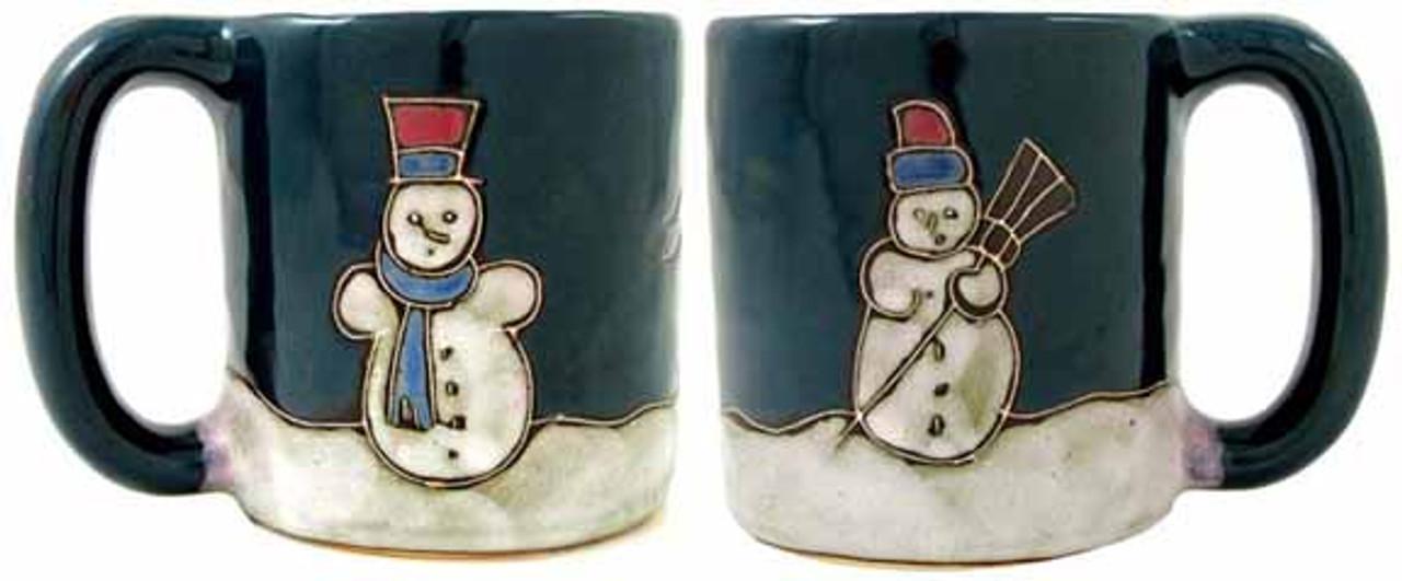 Mara Mug 16oz - Snowmen