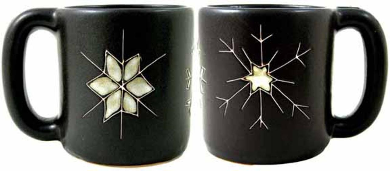 Mara Mug 16oz - Snow Flakes