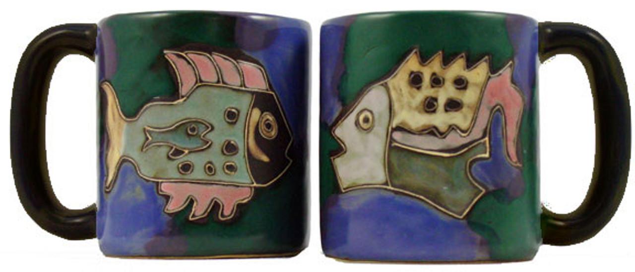 Mara Mug 16oz - Fish