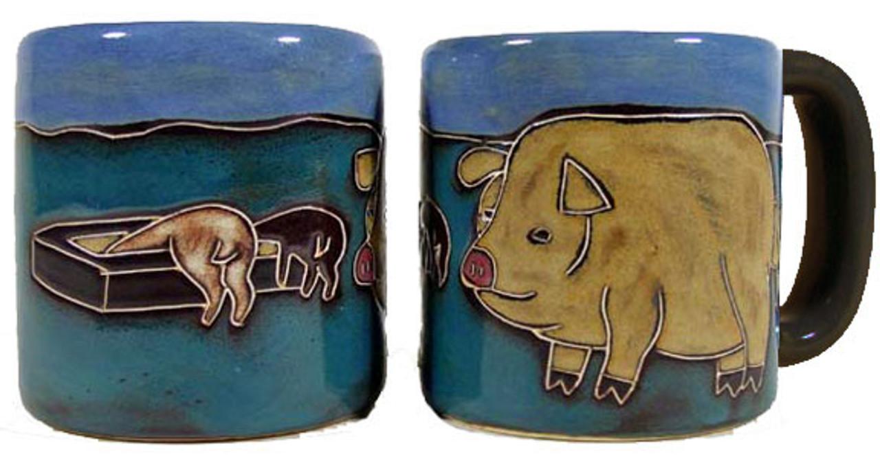 Mara Mug 16oz - Pigs