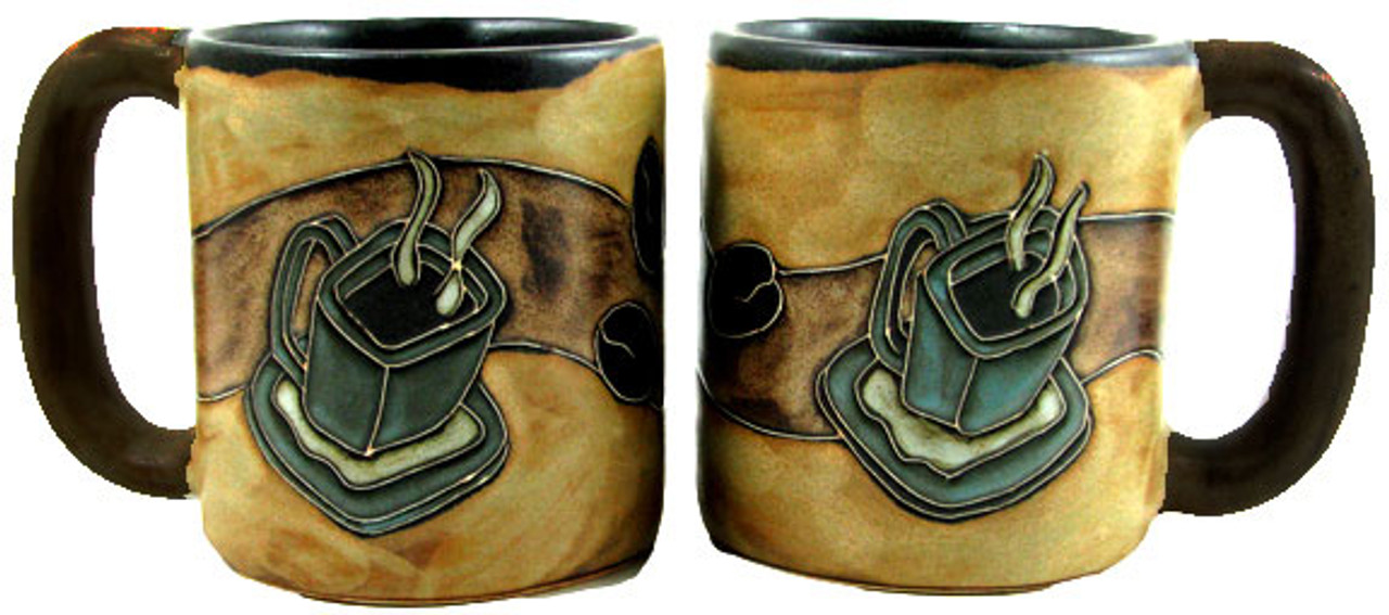 Mara Mug 16oz - Coffee Beans and Mug