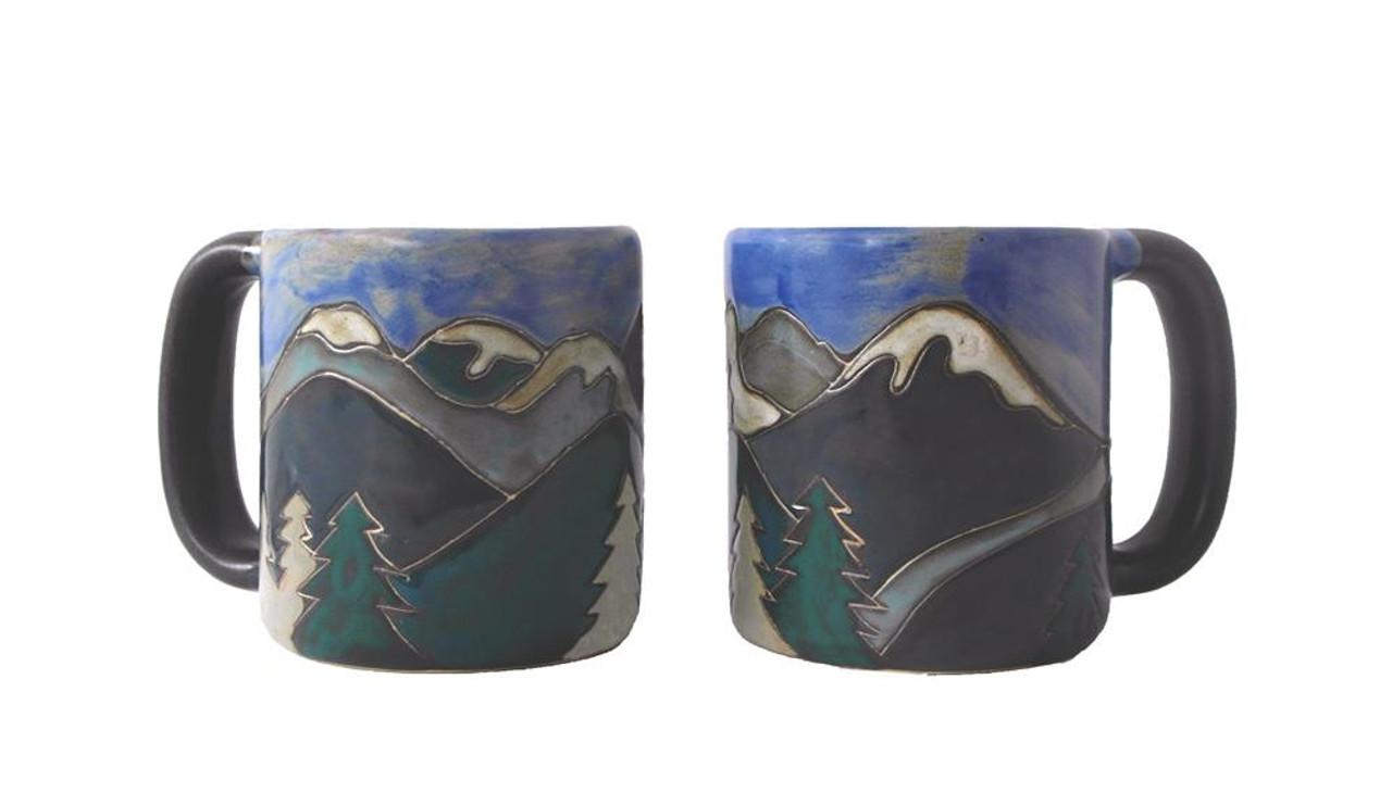 Mara Mug 16oz - Snowy Mountains