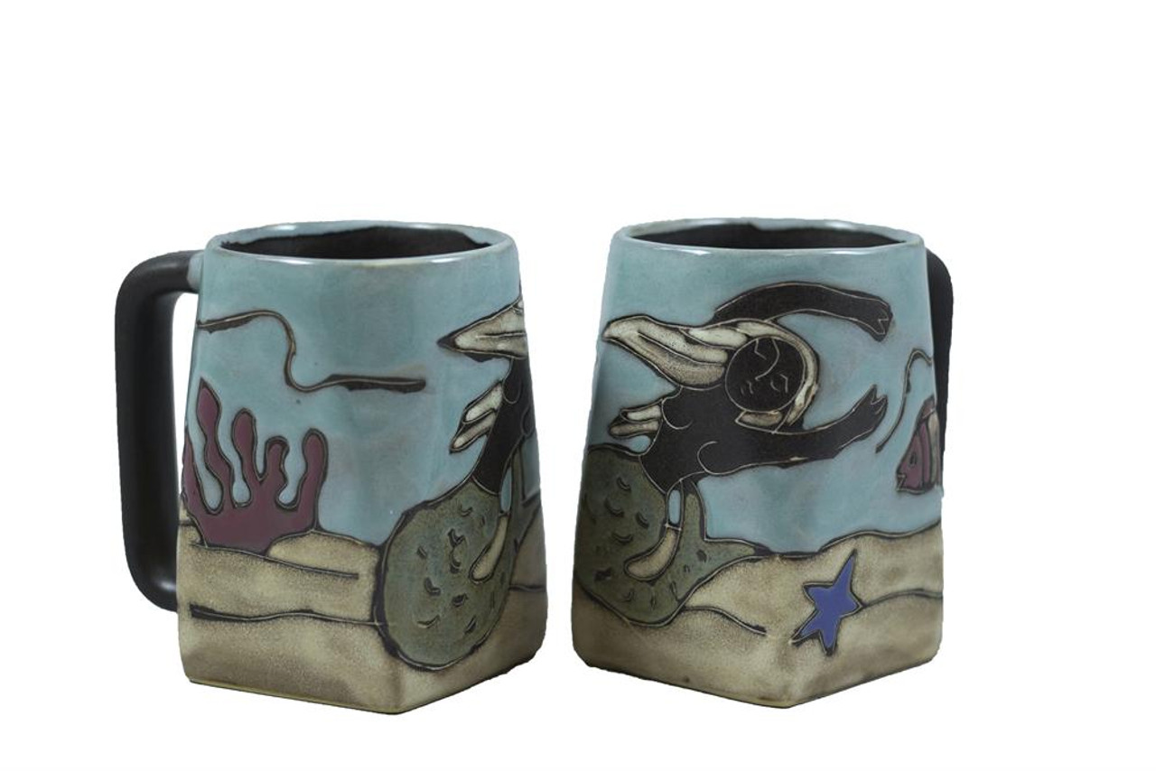 Skiers 12 oz. Mara Stoneware Mug