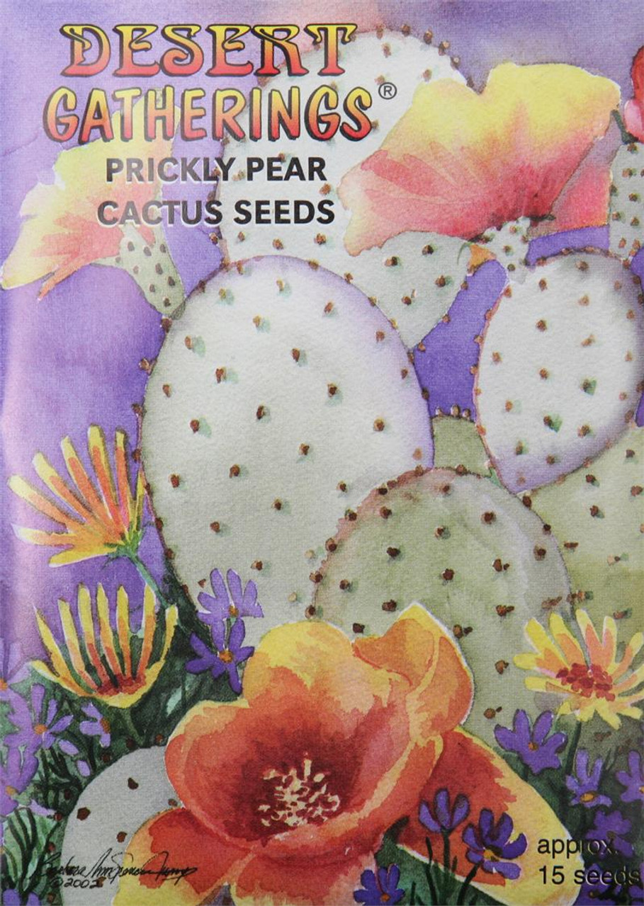 Prickly Pear Cactus Seeds