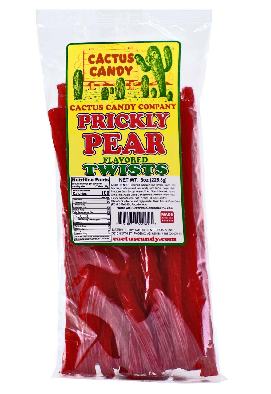 Prickly Pear Licorice Twists
