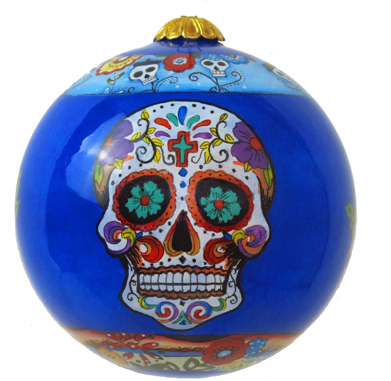 "Day of the Dead - 3"" Ornament Set of 2"