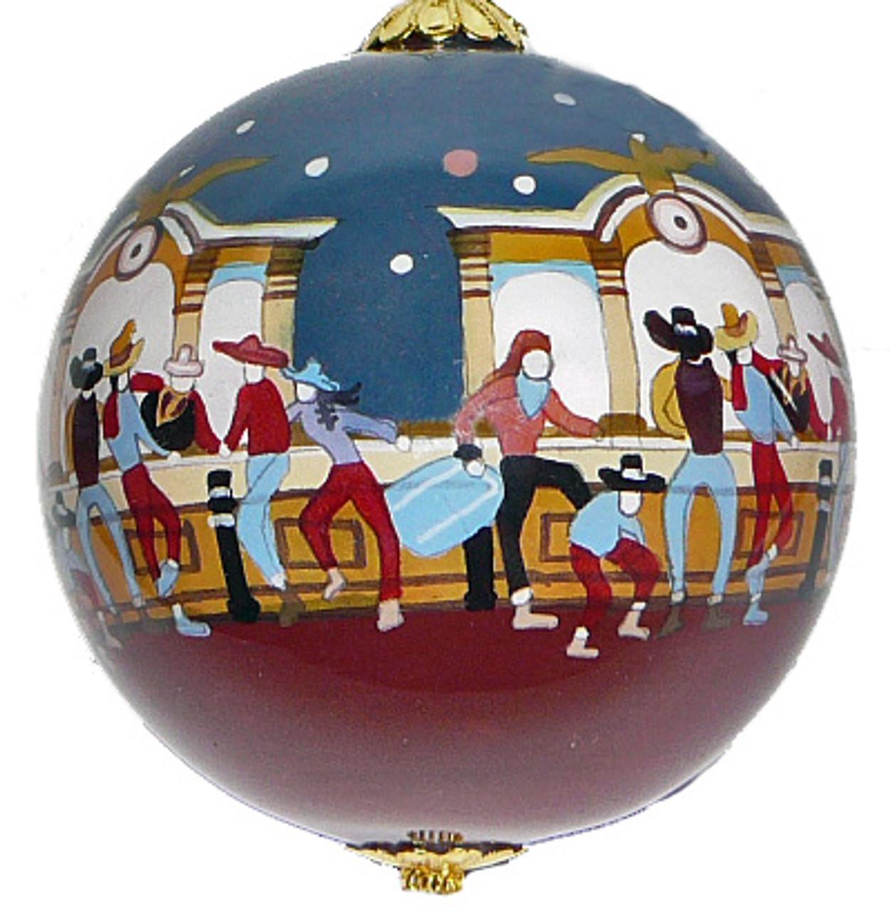 Saloon - Ornament Set of 2