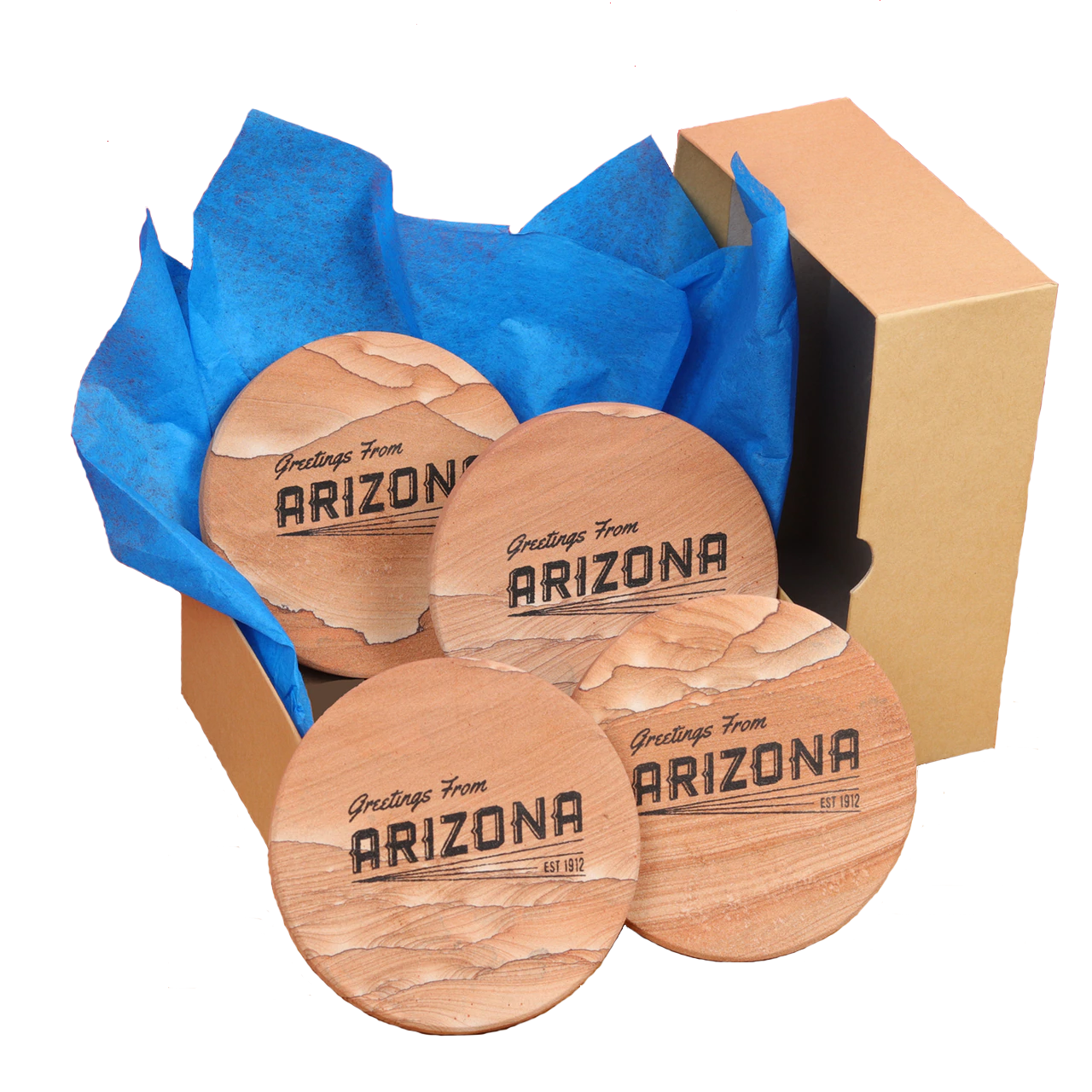 Arizona Gift Box Set of 4 Coasters