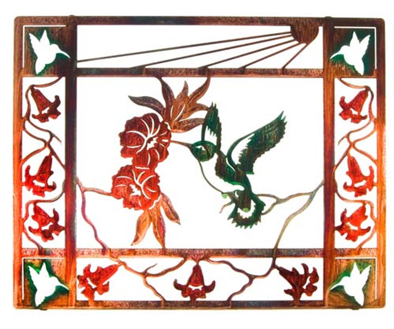 Sunshine (Framed Hummingbird)