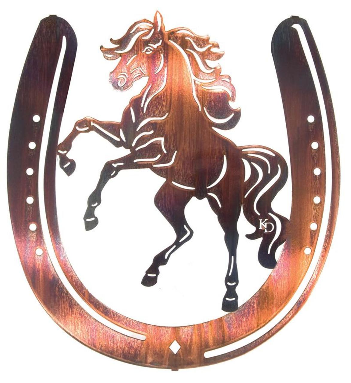 Black Beauty Horseshoe