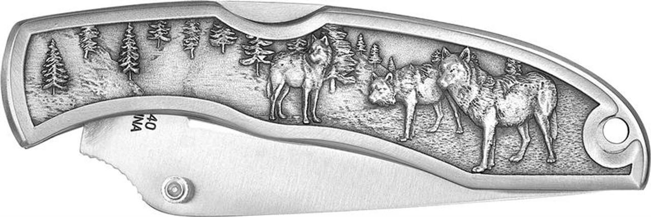 Wolves Pocket Knife