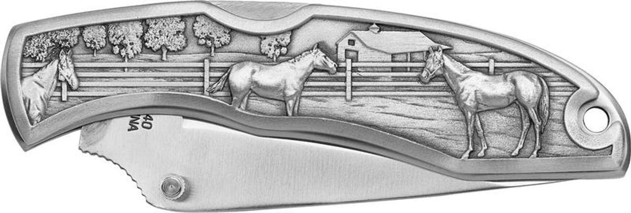 Horses Pocket Knife