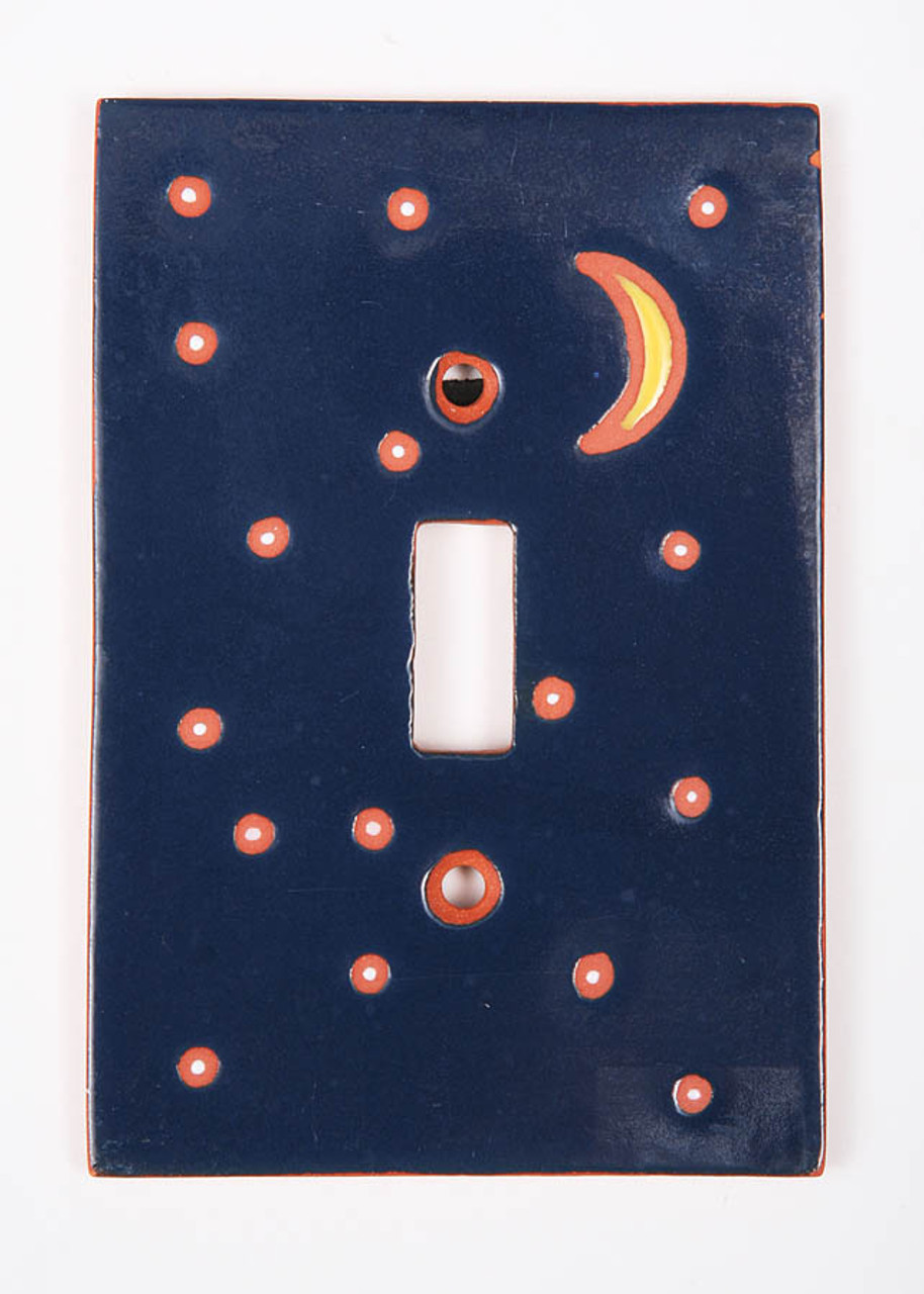 Stars and Crescent Moon Switch Plate Cover