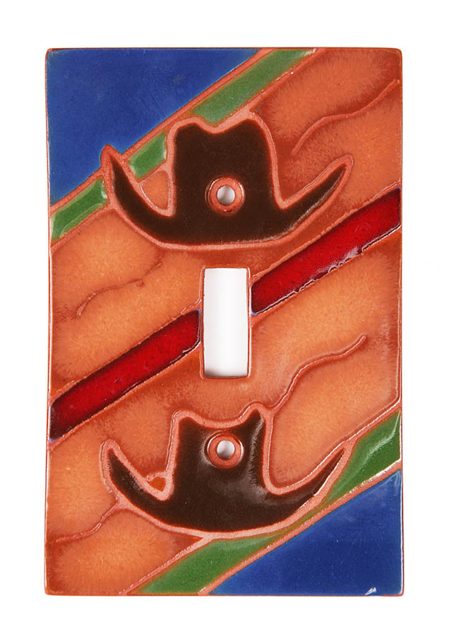 Cowboy Hat Switch Plate Cover