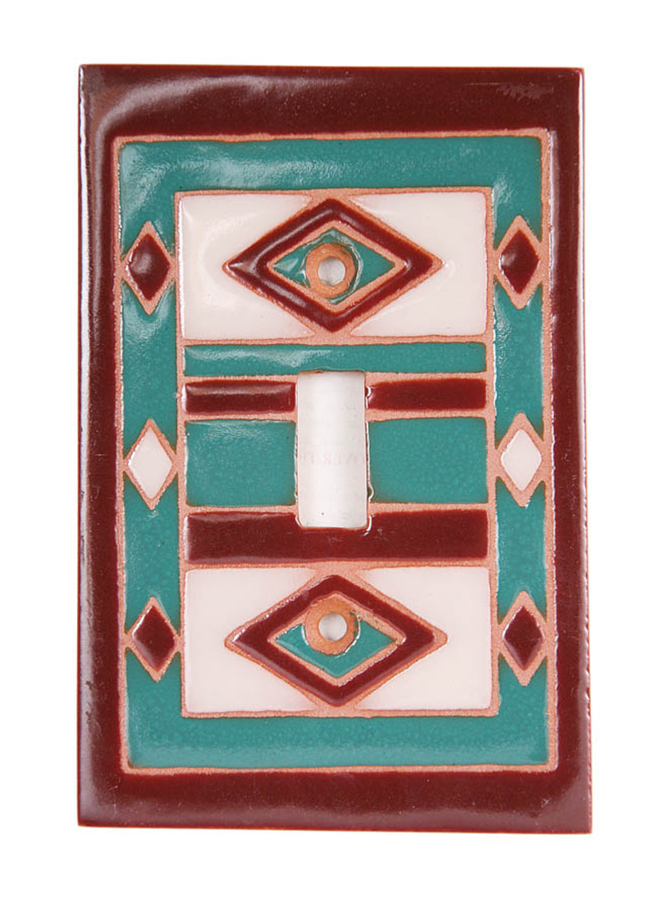 Geo Pattern Switch Plate Cover