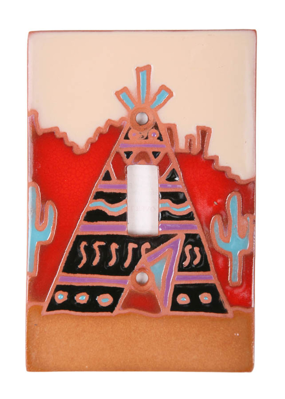 Teepee Switch Plate Cover