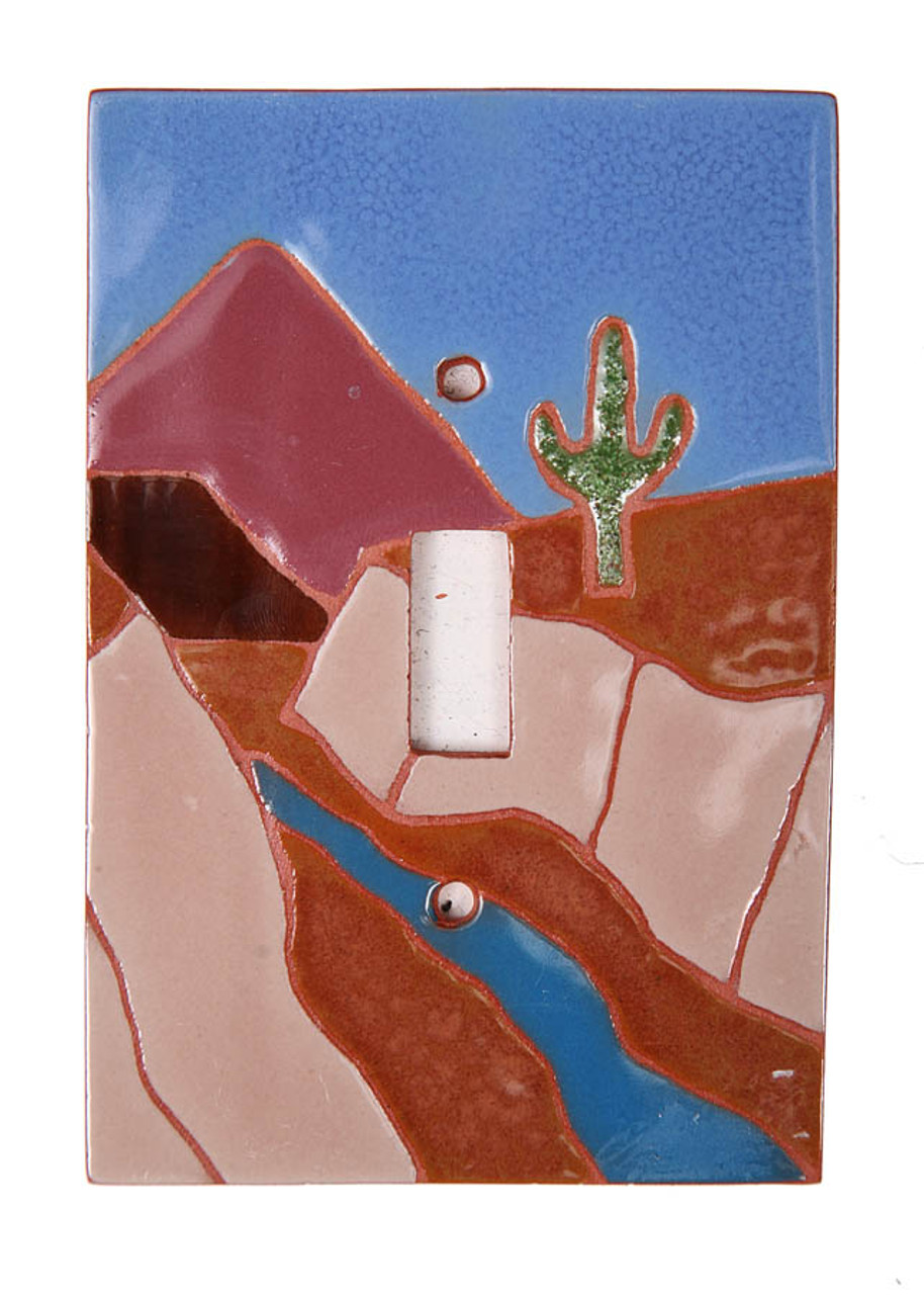 Canyon River Scene Switch Plate Cover