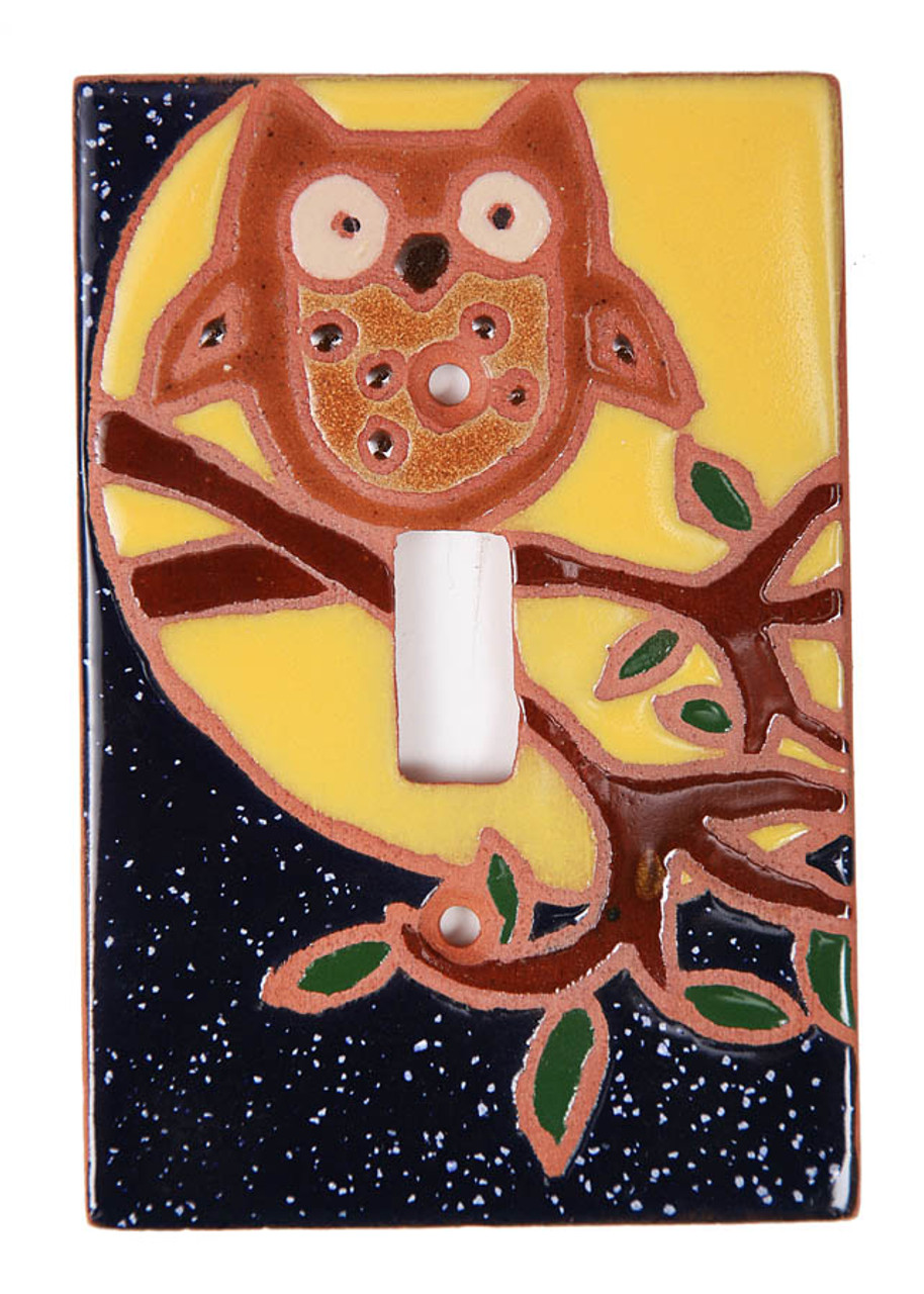 Owl Switch Plate Cover
