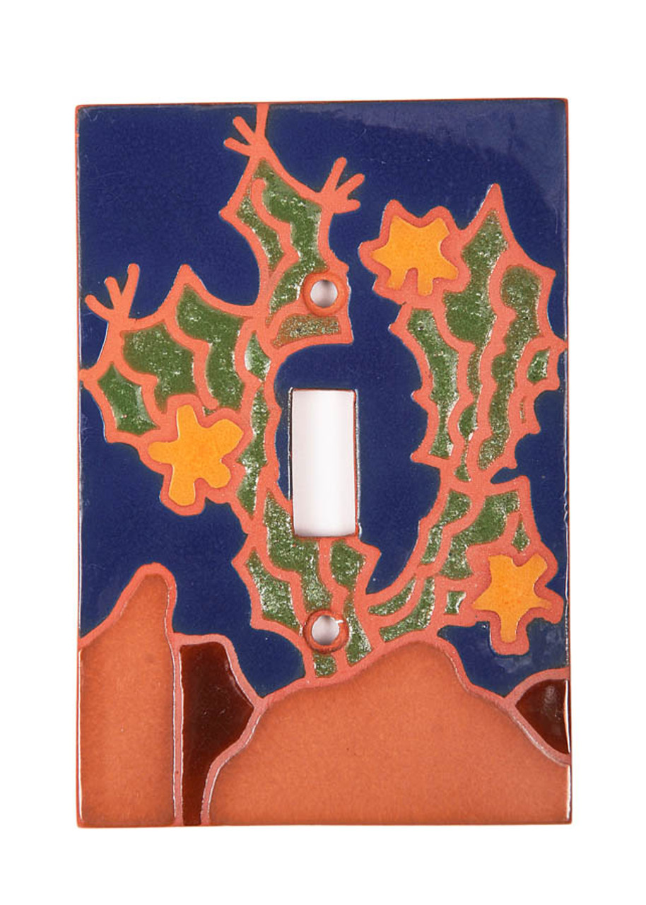 Ocotillo Cactus Switch Plate Cover