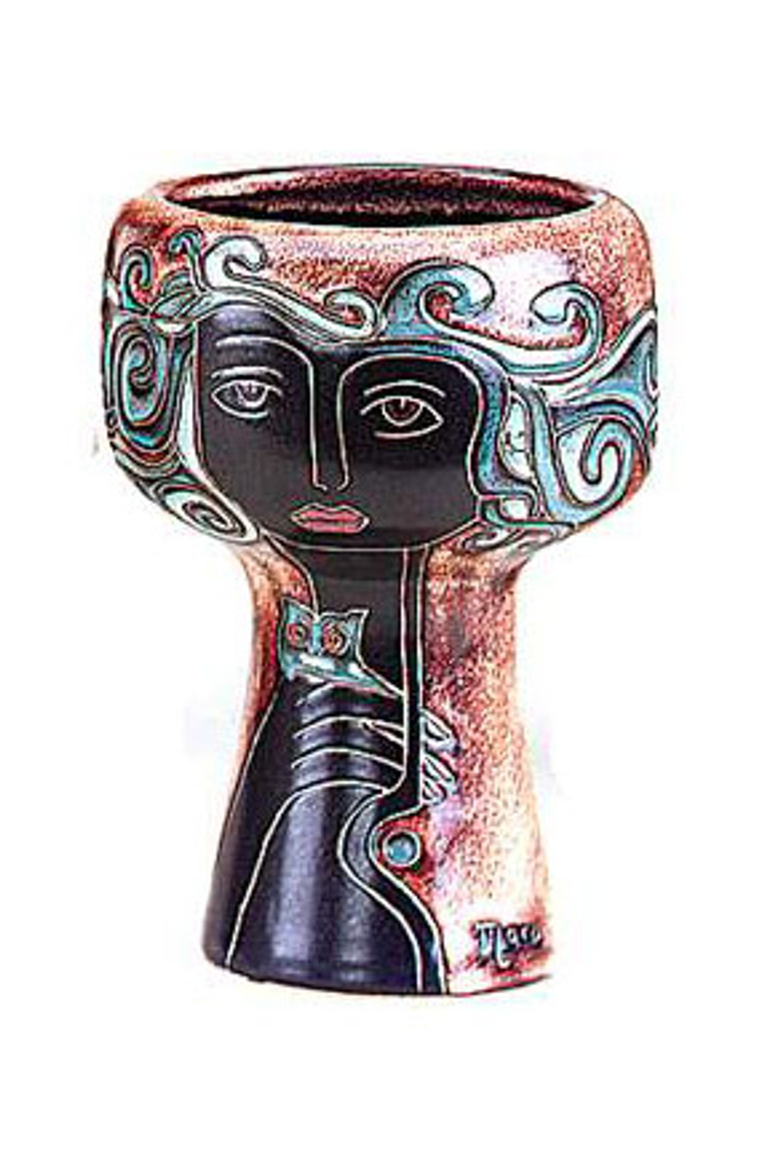 "Mara Small Chalice Vase 8.5"" - Limited Series"