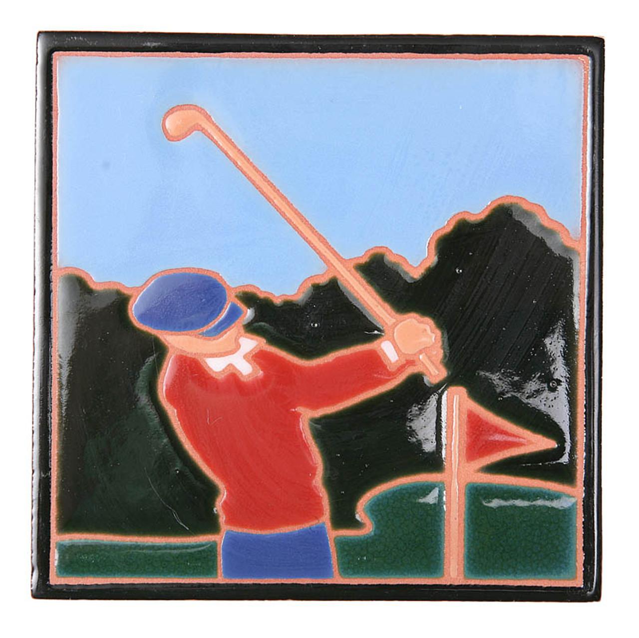 Golfer Trivet