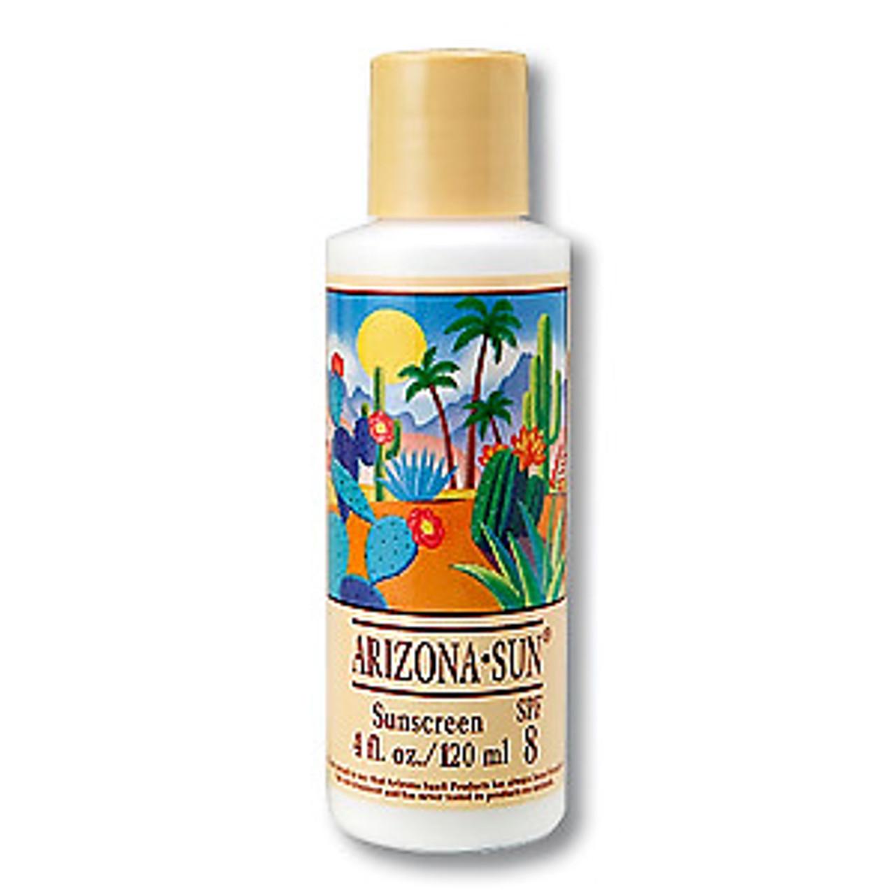 Sunscreen/Suntan, SPF8 - 4oz