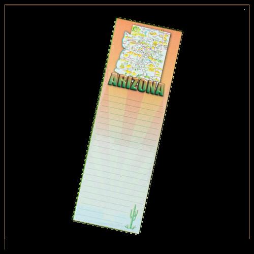 Notepad w/ magnet, AZ map