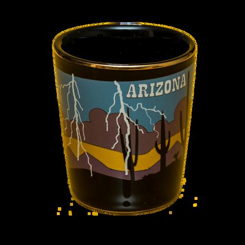 AZ Monsoon Lightning Shotglass
