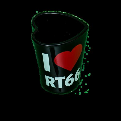 I Heart Rt. 66 Shotglass