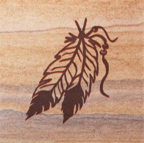 Feathers Coasters - Set of 4