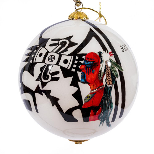 "Power of Traditions - 4"" Ornament Set of 2"