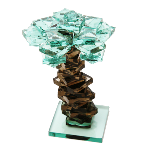 "Glass Palm Tree - 4.5"""