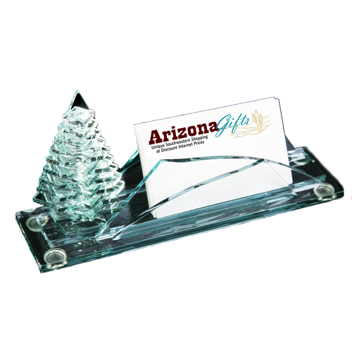 Pine Tree - Business Card Holder