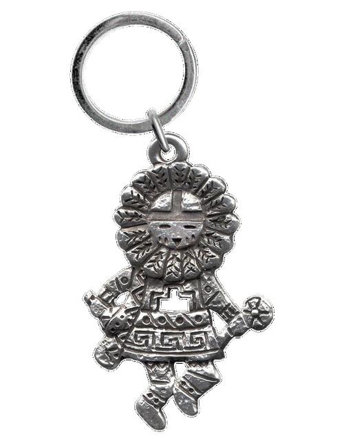 Sun Kachina #2 Mini Keychain