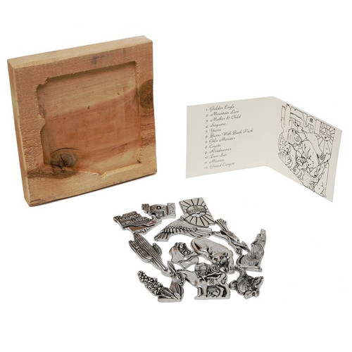 Pewter Arizona Puzzle