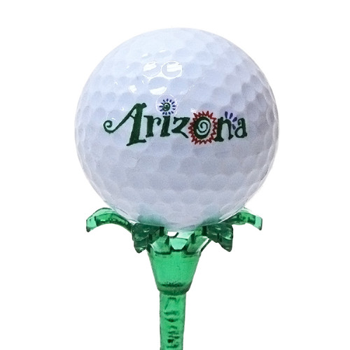 Palm Tree Golf Tee