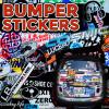 bumper stickers, vinyl stickers, stickers, decals
