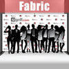 Fabric Step and Repeat Banner with stand 14'x8'