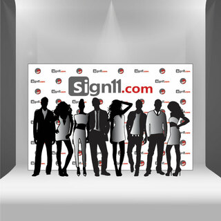 Step and Repeat Banner 12'x8'