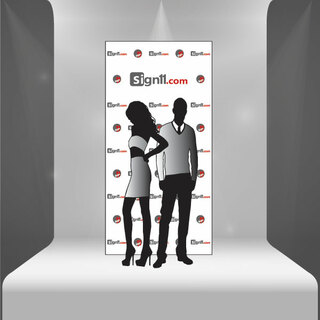 Step and Repeat Banner 4'x8'