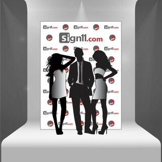 Step and Repeat Banner 6'x8'