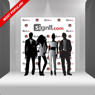 Step and Repeat Banner 8'x8'